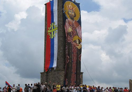 Srpska pravoslavna crkva i njeni Vernicidanas obeležavaju Vidovdan.
