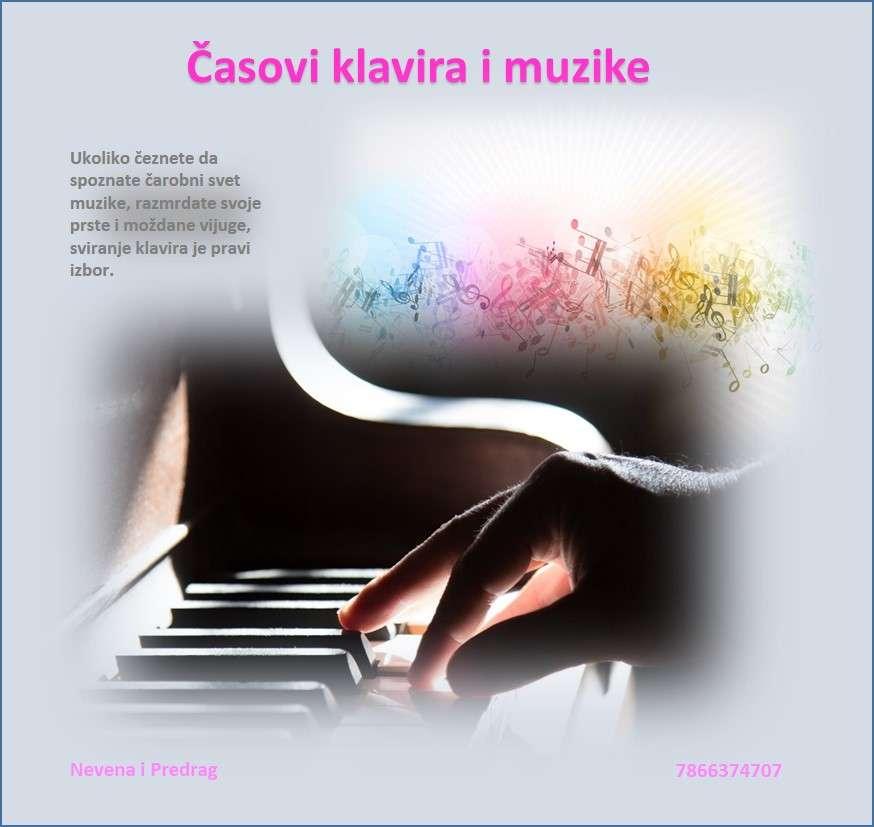 Časovi klavira i muzike