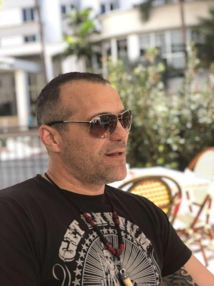 Dejan Pein tattoo artist Miami Glasnik