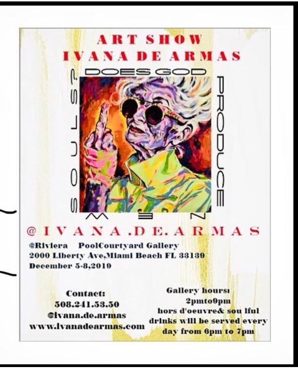 ART SHOW – Recycling of the souls