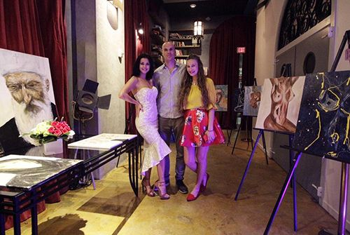 Gordana Draganić održala izložbu u Majamiju!