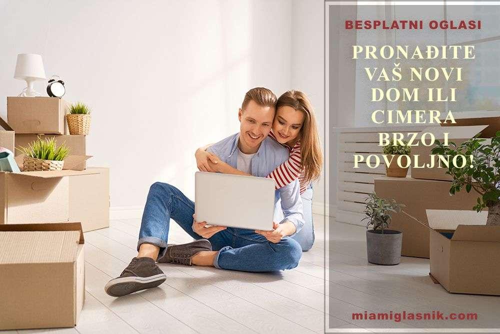 Besplatni oglasi za pronalaženje stana ili cimera u Majamiju