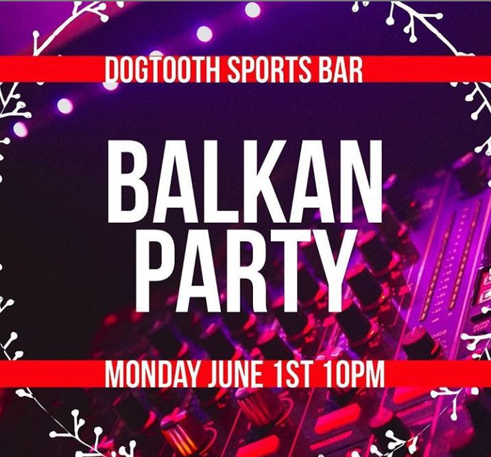 Ne propustite Balkan Party u Naplesu 1. juna