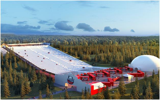 Svečano otvoren prvi snežni park na Floridi