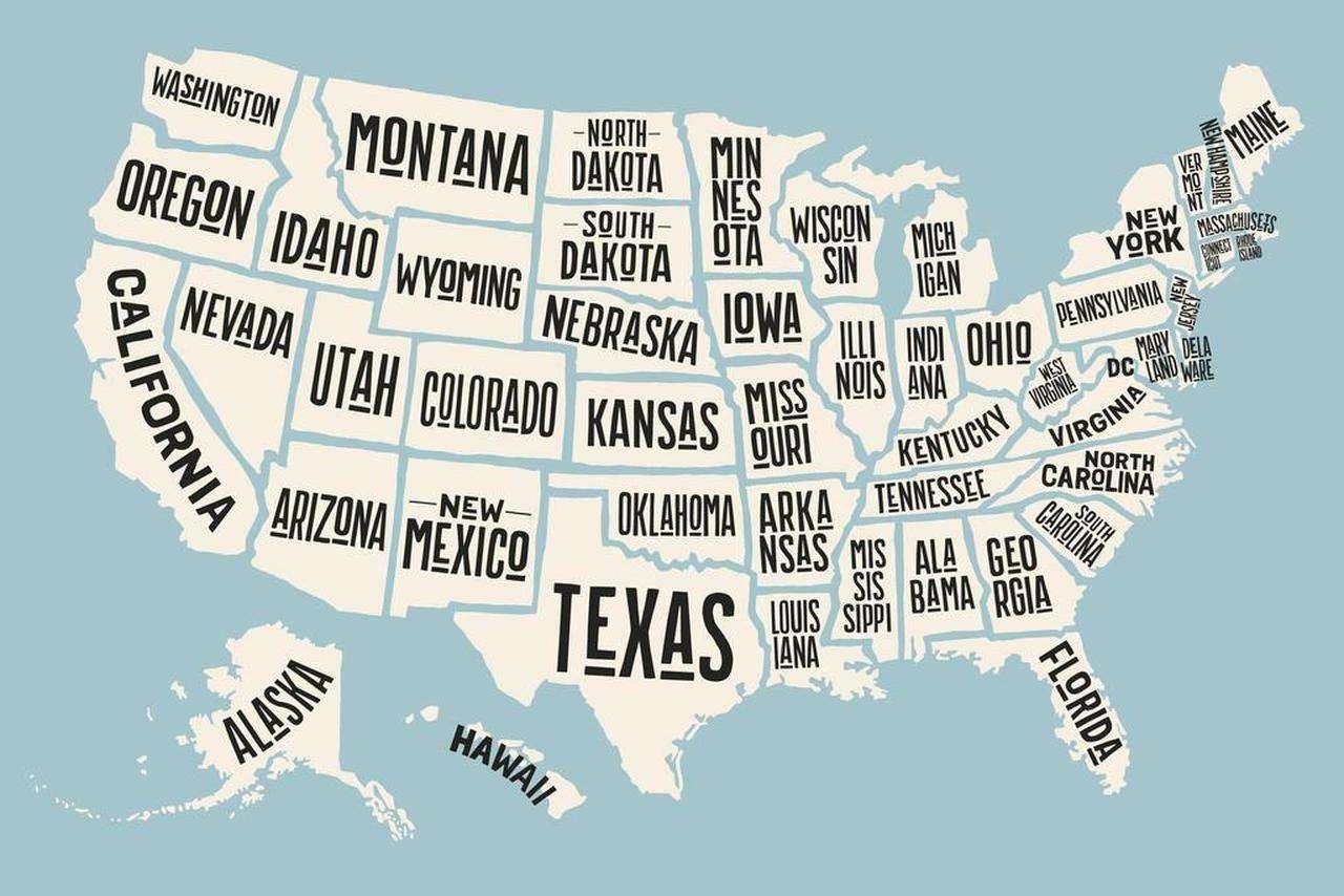 Najdosadnije države u Americi za 2021.godinu