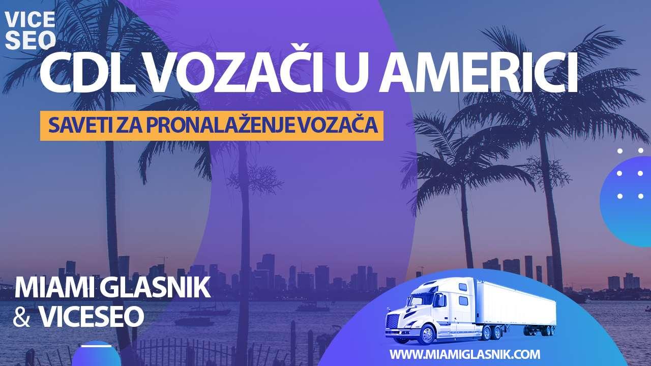 Vozači kamiona u Americi